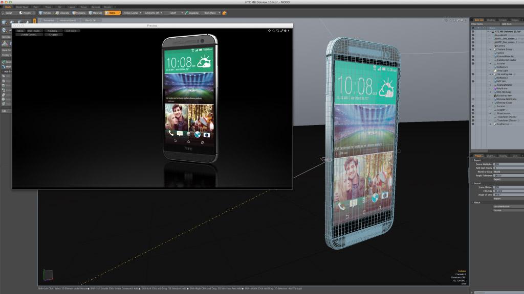 01 HTC screen desktop